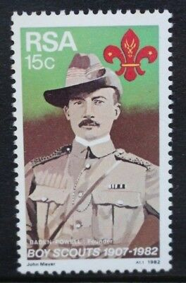 SOUTH AFRICA 1982 Boy Scout Movement 75th Anniversary. Set of 1. MNH. SG504.