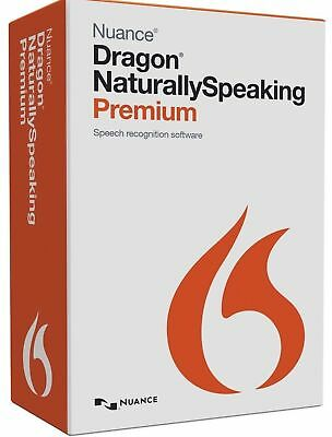 Nuance Dragon Naturally Speaking Premium v13 ENGLISH Email Delivery