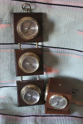 Springfield instrument Co thermometer Barometer Humidity & Hamilton Thermometer