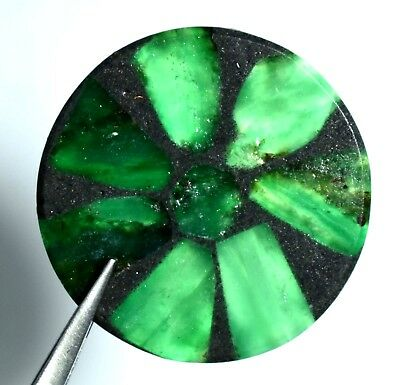 Big and RARE Natural TRAPICHE Emerald from Colombia 57.20 Ct AGSL Certified