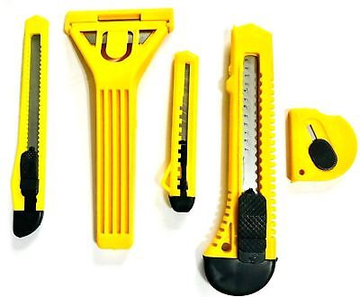5 pack of Knife & Scraper Set Wall PAPER CUTTING TOOL Fast & Free Delivery