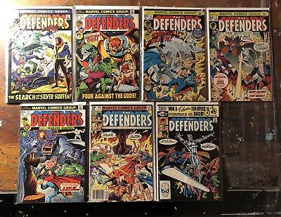 Silver Surfer/Defenders Editions