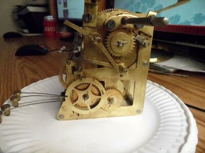 Seth Thomas #90 Four Bell Sonora Chime Movement For Parts Or Restore