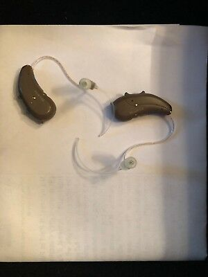 2 Miracle Ear ME RIC 5300 Genius Hearing Aids Receiver-in-Canal