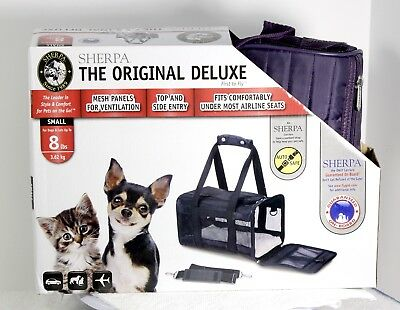 Pet Carrier Sherpa Dog & Cat Deluxe Airline Approved 8 Lb Max 1563