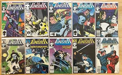 PUNISHER (2nd Series) 1987-1993 ISSUES 1-88 Plus ANNUAL's 1,2,4,5 MARVEL