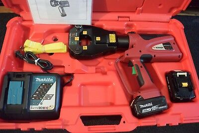 Burndy Brand 4 Point Dieless Hydraulic Crimper 18V Li-Ion Model PAT81KFT-LI
