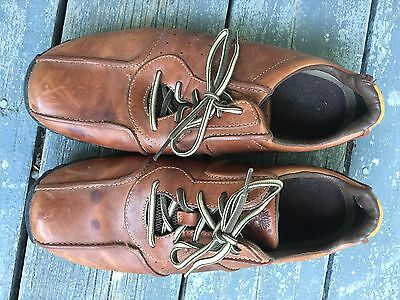 TIMBERLAND LEATHER OXFORDS Mens Shoes Size 13 M Brown Lace