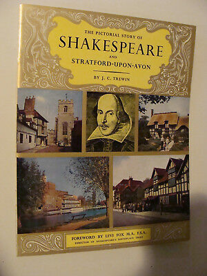 Story of Shakespeare and Stratford-Upon-Avon UK history guide c 1950s  Pitkin