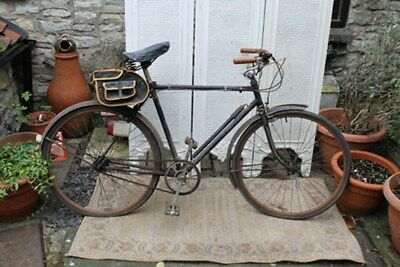 Man's Raleigh bicycle Restoration Project