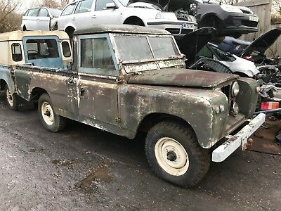 1962 – Land Rover Series IIA 4x4 Pick Up Project
