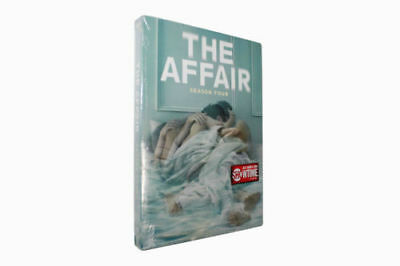 The Affair Season 4 (DVD, 2018,4 -Disc Set) brand new Free shipping