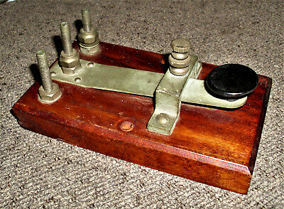 Vintage Telegraph Switch, Unbranded