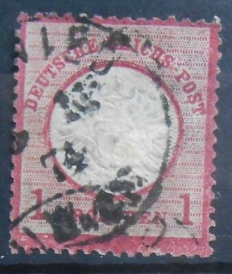 Germany - 1 Grochen red - 1872 issue