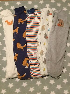 John Lewis Sleepsuit Bundle Boys 9-12 Months
