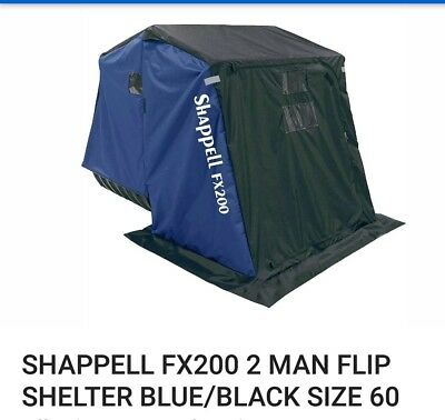 NEW SHAPPELL ONE Man Flip Ice Shelter Fish House FX100