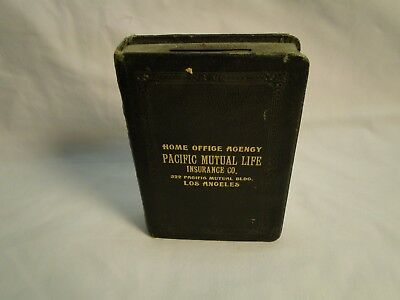 Antique BOOK BANK - 1923 - Pacific Mutual Life Insurance Co.