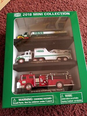 2018 Hess Mini Truck Collection-Brand New in Box-HESS MINI TRUCKS 2018 FAST SHIP