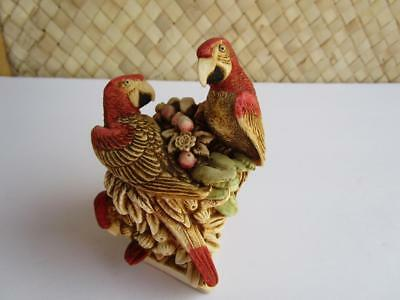 Harmony Kingdom Pieces Of Eight Limited Ed.David Lawrence Parrot Figurine Signed