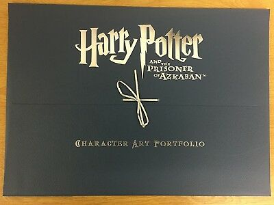 Harry Potter Prisoner Of Azkaban Character Art Portfolio 9 Prints & Certificate
