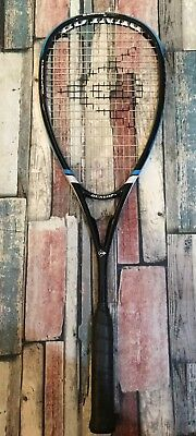 DUNLOP BLACKSTORM CARBON SQUASH RACKET - BRAND NEW - Happy Bidding