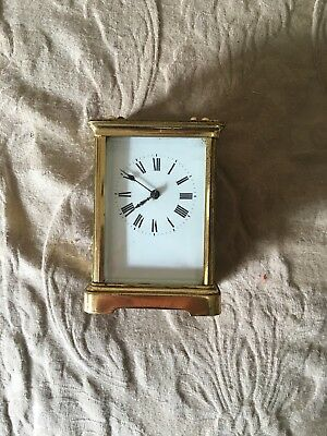 CARRIAGE CLOCK REPEATER STYLE MADE IN FRANCE Used Condition