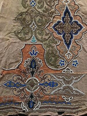 Exceptional Authentic French antique 1920s handmade embroidered ART DECO work