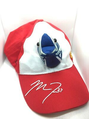a2d5d032ff151 Mike Trout 27 Fish Hat Red Strap Back MLB Los Angeles Angels Baseball