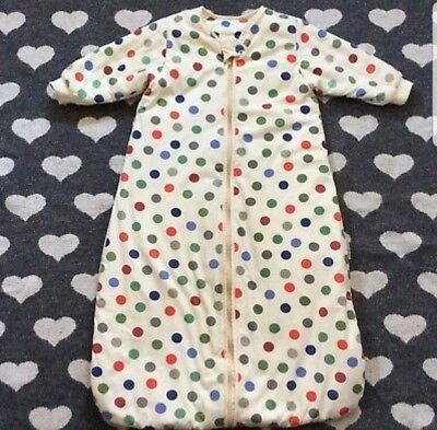 Slumbersac Long Sleeved 3.5 Tog Sleeping Bag 6-18 Months