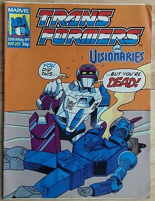 Transformers UK Comic Issue 217