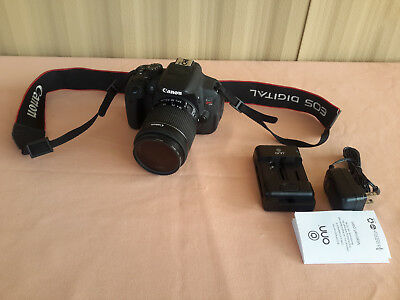 Canon Rebel EOS T5i Digital Camera 18mpx With EFS 18-55mm Lens