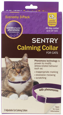 Sergeant's Sentry Calming Collar for Cats 3 pk
