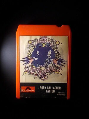 8-Track / 8-Spur Tonband /Cartridge :  Rory Gallagher - Tatoo