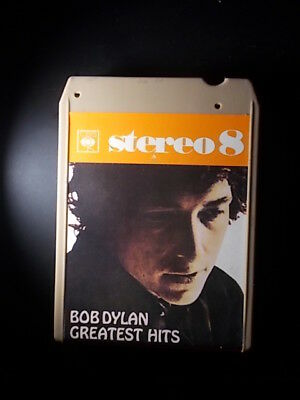 8-Track / 8-Spur Tonband /Cartridge :  Bob Dylan - Greatest Hits