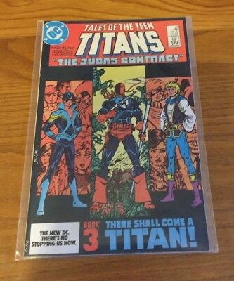 TALES OF THE TEEN TITANS 44. NM- COND. JULY 1984. 1st NIGHTWING. KEY
