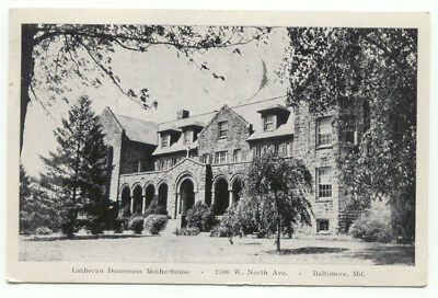 Baltimore MD Lutheran Deaconess Motherhouse c1951 Postcard  - Maryland