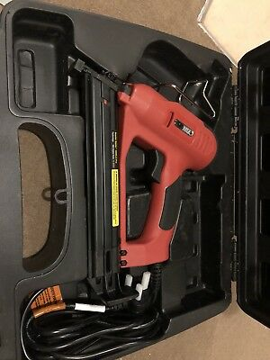 Tacwise 400ELS Pro Professional Electric Angled Nail Gun - Includes Hard Case