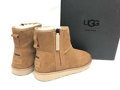 Ugg Australia Classic Mini Zip Waterproof Chestnut 1018453 Mens