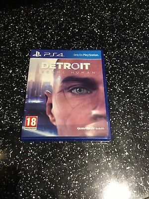 PlayStation 4 PS4 Game Detroit Become Human
