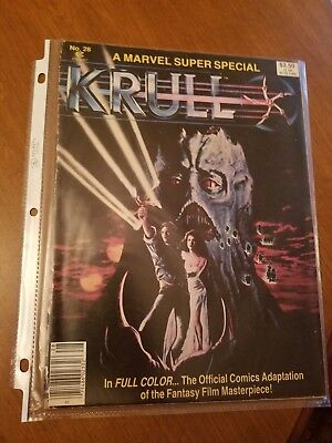 Krull Official Comic Adaptation - Marvel Super Special No. 28 (1983)