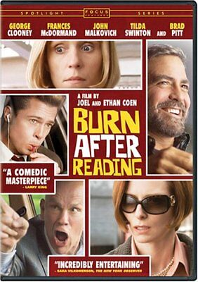 Burn After Reading (DVD, 2008) - Disc Only