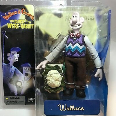 McFarlane Wallace & Gromit The Curse of the Were-Rabbit Wallace Figure