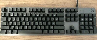 Logitech - G513 Carbon RGB Wired Gaming Mechanical GX Blue Switch Keyboard - ...