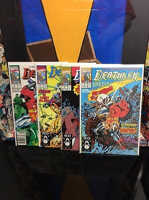 Marvel Comics Deathlok Special Series #1-4 Nm