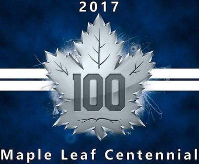 2017 17-18 Upper Deck Ud Toronto Maple Leafs Centennial Complete Base Set #1-100