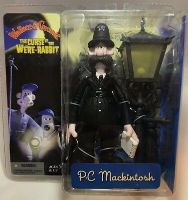 McFarlane Wallace & Gromit The Curse of the Were-Rabbit PC Mackintosh Figure