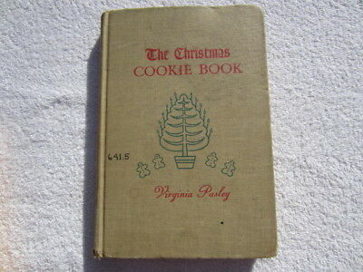 The Christmas Cookie Book By Virginia Pasley (1949, hardback)
