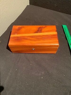 Vintage Lane Cedar Chest Jewelry Box Shiners Furniture Co Butte Mont