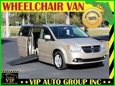 2013 Dodge Grand Caravan Handicap Wheelchair Mobility Power Side Ramp 2013 Dodge Grand Caravan Handicap Mobility Wheelchair Van BraunAbility Ramp van