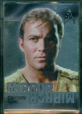 Star Trek Original Series 50th Anniversary ( MM1 ) Mirror Mirror Heroes Insert